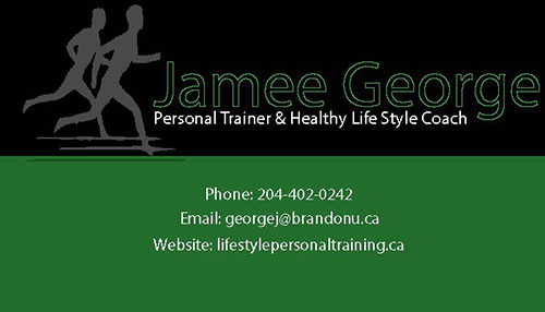 Jamee George Business Card - Class assignment